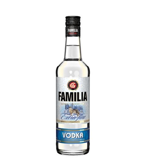 FAMILIA Vodka Extra fine 38% 0.5L