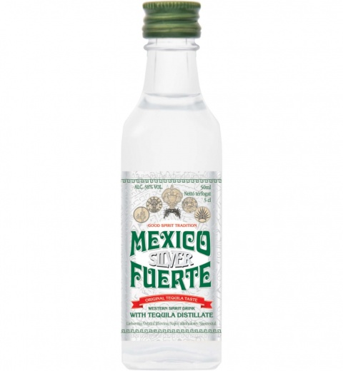 Mexico Fuerte Silver 38% 0.05L