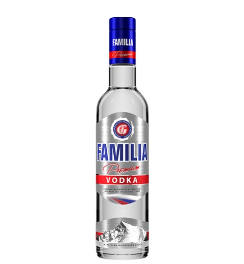 FAMILIA Premium Vodka 38% 0.5L