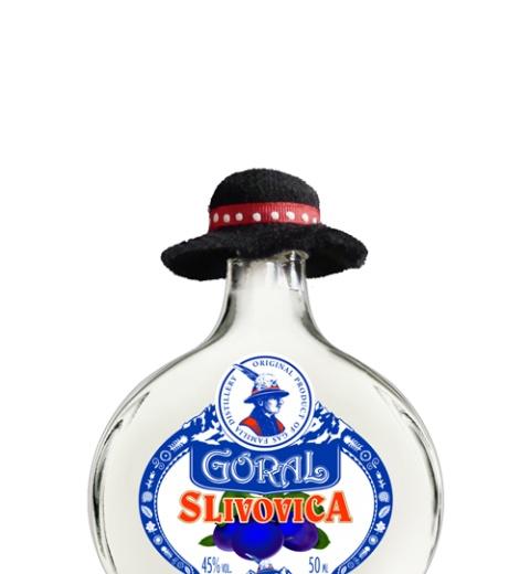 Goral Slivovica 45% 0.05L