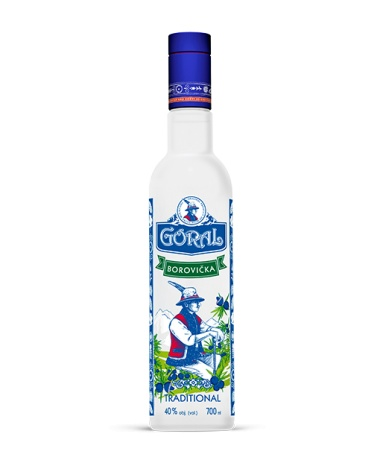 Goral Borovička traditional 40% 0.7L