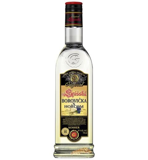 Spišská Borovička s horcom Original KOSHER 40% 0.7L