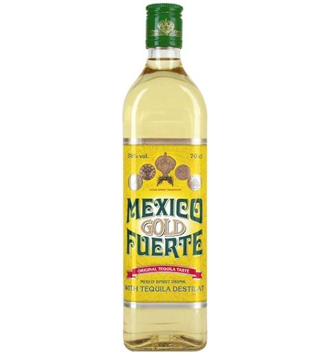 Mexico Fuerte Gold 38% 0.7L