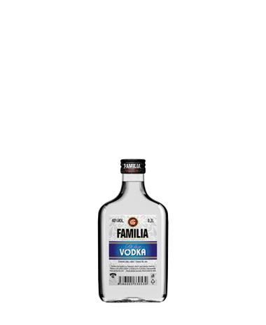FAMILIA Vodka De Luxe 40% 0.2L