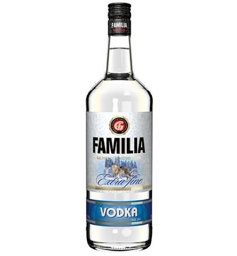FAMILIA Vodka Extra fine 38% 1L