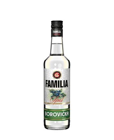 FAMILIA Borovička 40% 0.5L