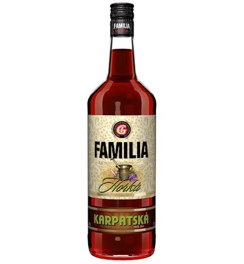 FAMILIA Karpatská horká 23% 1L