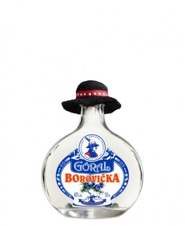 Goral Borovička 40% 0.05L