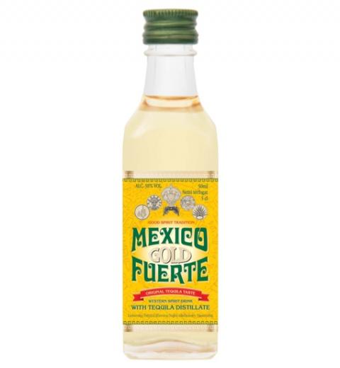 Mexico Fuerte Gold 38% 0.05L