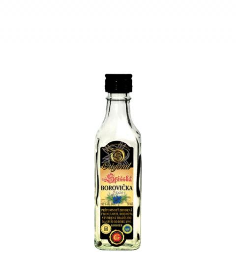 Spišská Borovička Original KOSHER 40% 0.05L