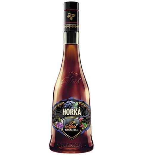 Spiš Original Horká Čučoriedka 35% 0.7L