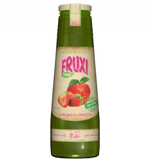 FRUXI FRESH Jablko a jahoda 0.75L