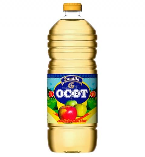 GAS Ocot kvasný jablčný 5% 1L