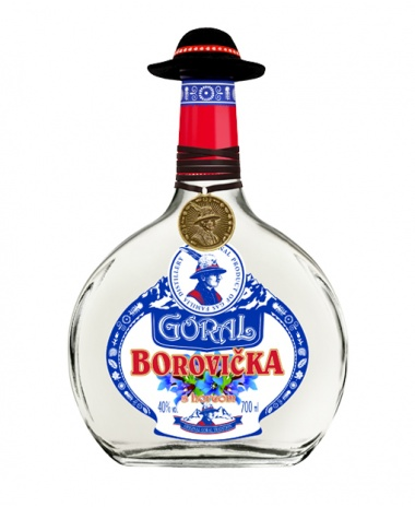 Goral Borovička s horcom 40% 0.7L