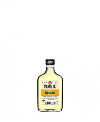 FAMILIA Hruška 38% 0.2L