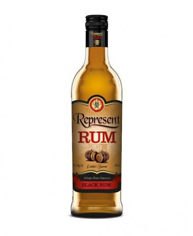 REPRESENT Rum black 38% 0,7 l