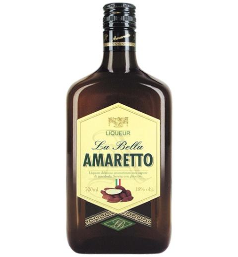 Amaretto La Bella 18% 0.7L